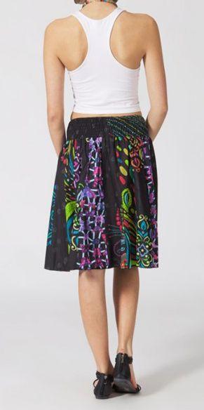Jupe mi-longue colorée Valérie N2 268126