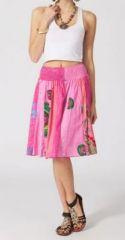 Jupe mi-longue colorée Valérie N4 268130