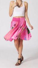Jupe mi-longue colorée Valérie N4 268131