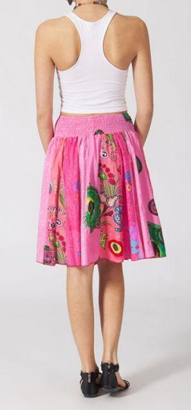 Jupe mi-longue colorée Valérie N4 268132