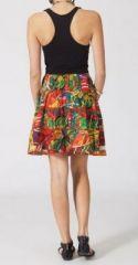 Jupe mi-longue colorée Valérie N5 268134