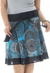 Jupe mi-longue grande taille colorée pour l' été Iris 291964