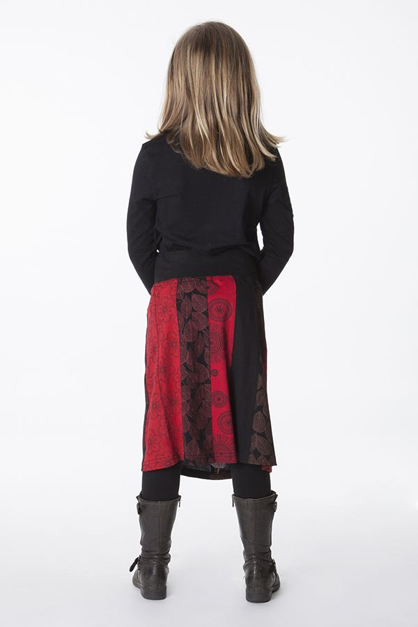 jupe originale pour enfant fille avec imprim xylia. Black Bedroom Furniture Sets. Home Design Ideas