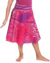 Jupe pour Fillette d'été Colorée et Ethnique Kalina Rose 279740