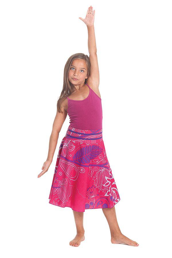 Jupe pour Fillette d'été Colorée et Ethnique Kalina Rose 279741