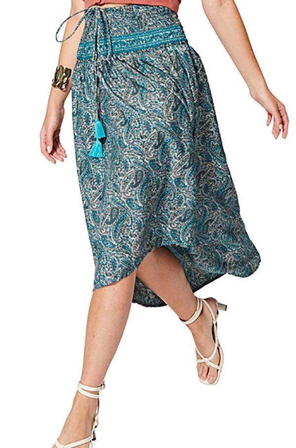 Jupe robe asymétrique femme même enceinte fluide originale Fuuka