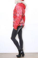 Manteau court coloré style casual pour femme Anade 304260