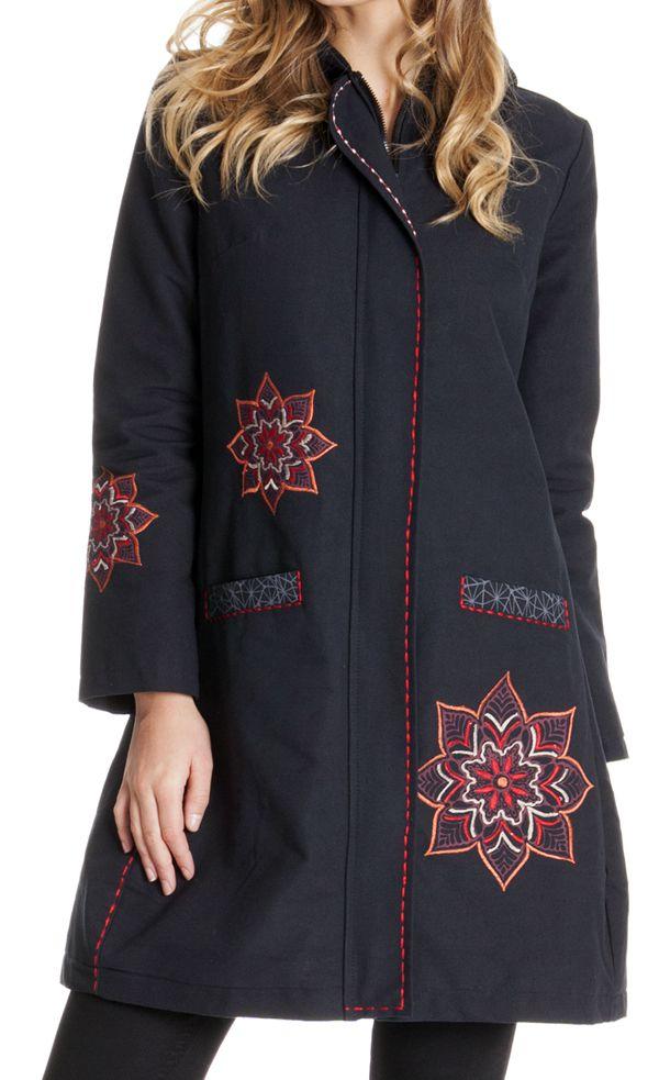 manteau doubl pour femme original et tendance draven. Black Bedroom Furniture Sets. Home Design Ideas