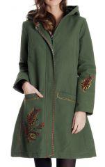 Manteau en Toile de Coton à capuche Chic et Ethnique Edgar 286899