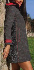Manteau femme en toile de coton Original et Ethnique Dani 274574