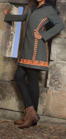 Manteau femme en toile de coton Original et Ethnique Ellan 274599