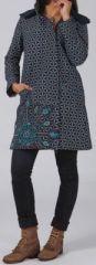 Manteau femme en toile de coton Original et Ethnique Ellio 274603