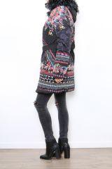 Manteau femme original et coloré look ethnique Carmen 304311