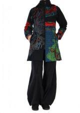 Manteau patchwork femme Bilami 266435