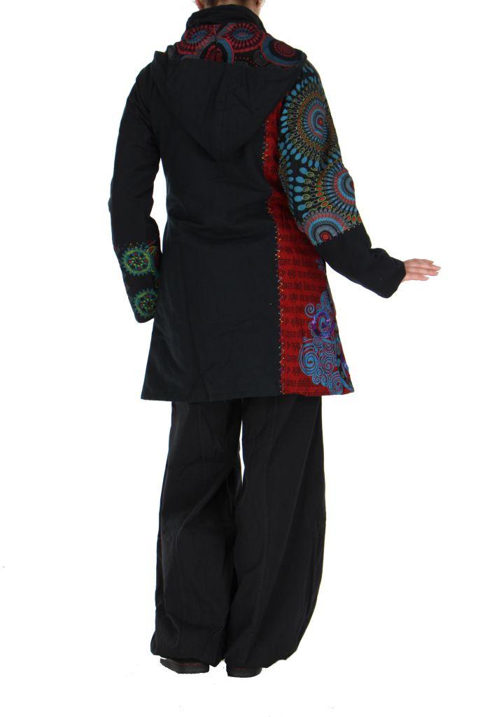 Manteau patchwork femme Louna 266434