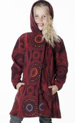 Manteau pour Enfant Etonnant et Ethnique en Polaire Shaunak 287624