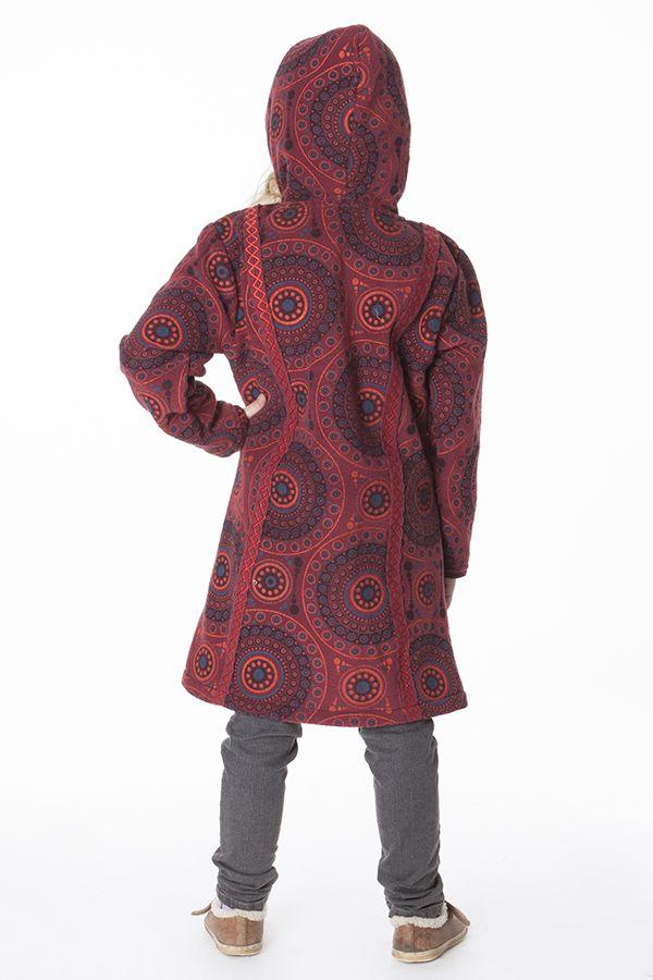 Manteau pour Enfant Etonnant et Ethnique en Polaire Shaunak 287626