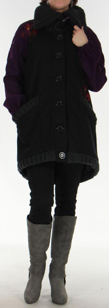 manteau pour femme original avec col douillet jonas. Black Bedroom Furniture Sets. Home Design Ideas