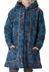 Manteau pour fille original avec des imprimés ethnique 287610