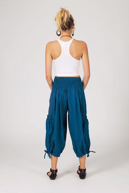 pantalon 3/4 élégant avec effet bouffant avec 2 poches  Albany 288983