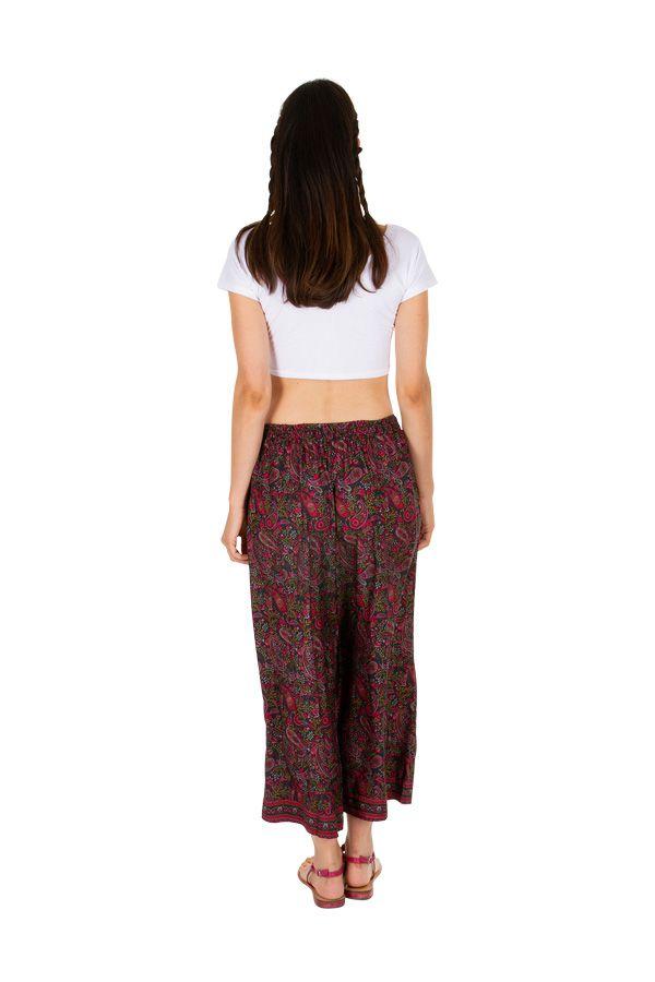 Pantalon ample et confortable esprit floral pour femme Eryn