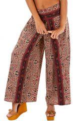 Pantalon ample imprimé baba pour femme Laurence