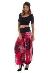 Pantalon ample légèrement bouffant avec mandalas Karalyn 289671