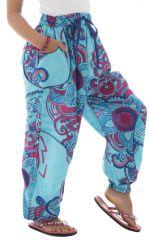 Pantalon ample pour enfants avec imprimés fantaisies Tulsa 294227