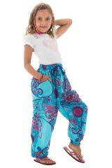 Pantalon ample pour enfants avec imprimés fantaisies Tulsa 294228