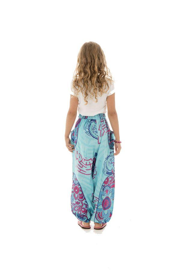 Pantalon ample pour enfants avec imprimés fantaisies Tulsa 294229