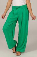 Pantalon Ample pour femme Ethnique et Fluide Voltair Vert 284547