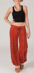 Pantalon ample pour femme imprimé ethnique Moka 3 271680