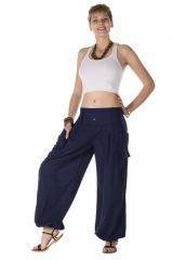 Pantalon ample ravissant à effet bouffant couleur bleu Albury 288988