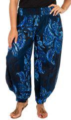 Pantalon ample style oriental pour femme grande taille 313206