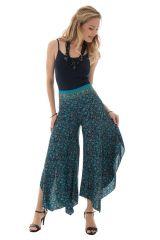 Pantalon avec ravissants motifs ethniques et coupe originale Freja 289665