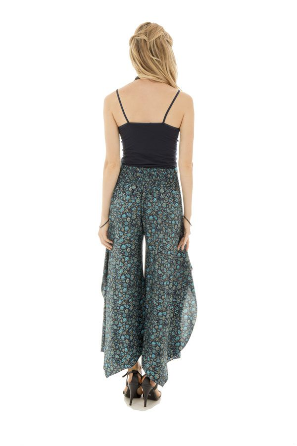Pantalon avec ravissants motifs ethniques et coupe originale Freja 289666