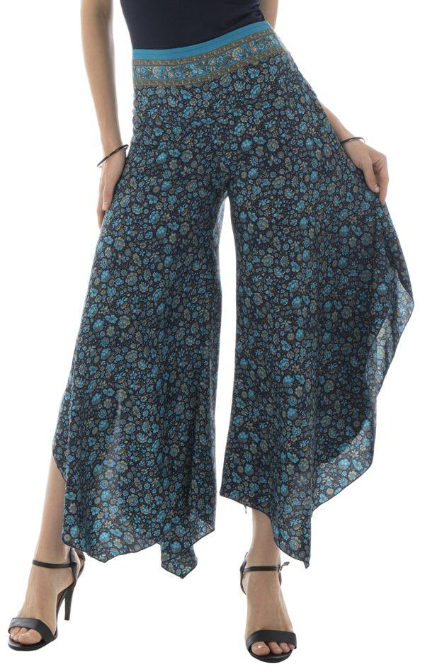 Pantalon avec ravissants motifs ethniques et coupe originale Freja 291876