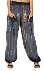 Pantalon baba cool et bouffant gris Tie and Die Tom 282776