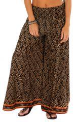 Pantalon bohème chic coupe large pour femme Letizia