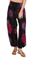 Pantalon bouffant  très féminin et élastiqué à la taille Adaline 294881