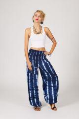 Pantalon bouffant avec 2 poches motif tie & die Silène 288398