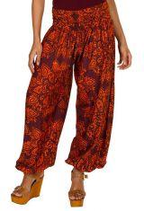 Pantalon bouffant coloré pour femme avec imprimés tendance Adaline 294864