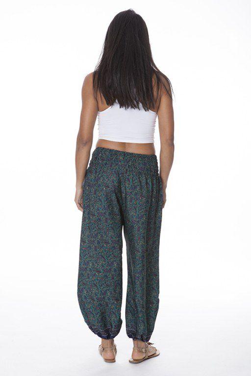 pantalon bouffant pour femme imprime et fluide nedungo. Black Bedroom Furniture Sets. Home Design Ideas