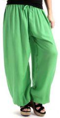 Pantalon bouffant pour Femme Original et Agréable Alan Vert 277727