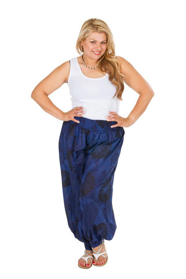 Pantalon bouffant style aladin femme grande taille Priya 306628