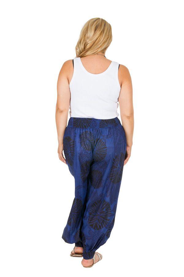 Pantalon bouffant style aladin femme grande taille Priya 306629