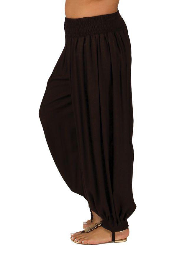 Pantalon Chocolat Aladin pour femme Grande taille Edena 283786