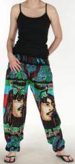 Pantalon coloré et imprimé à poches fantaisie Bob Marley Reggae 3 273061