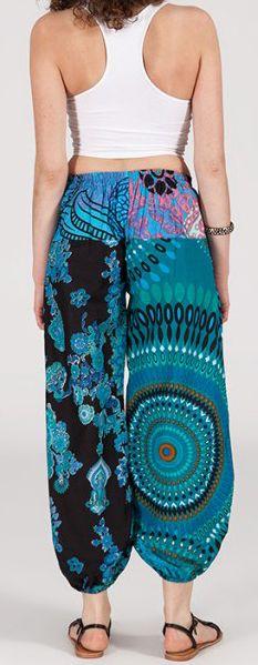 Pantalon coloré pas cher pour femme idéal l\'été Missil 8