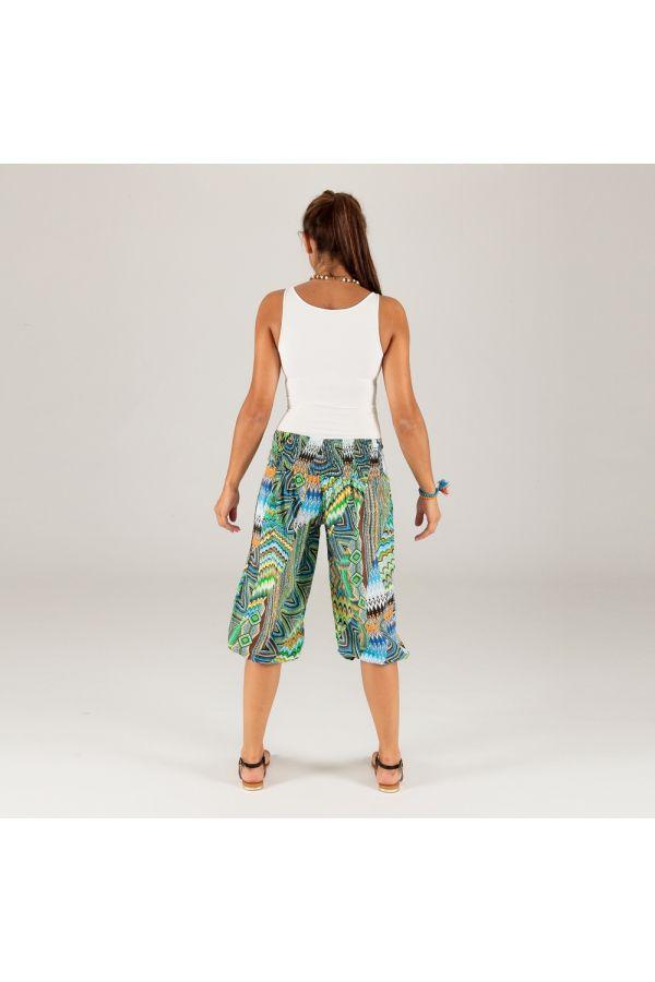 Pantalon court été femme ethnique chic de plage original Lucki 315389